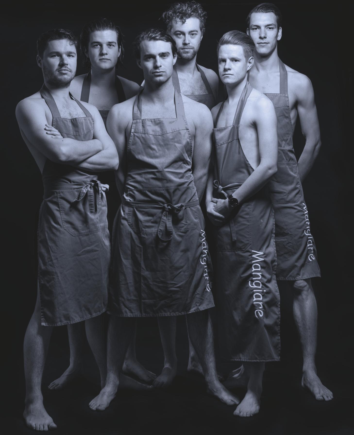 Mangiare Rotterdam mannen shirtloos